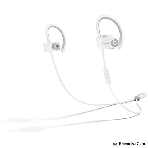 BEATS™ BY DRE™ Powerbeats™ 2 Wireless In-Ear Headphone [MHBG2PA/A] - White - Earphone Ear Monitor / Iem